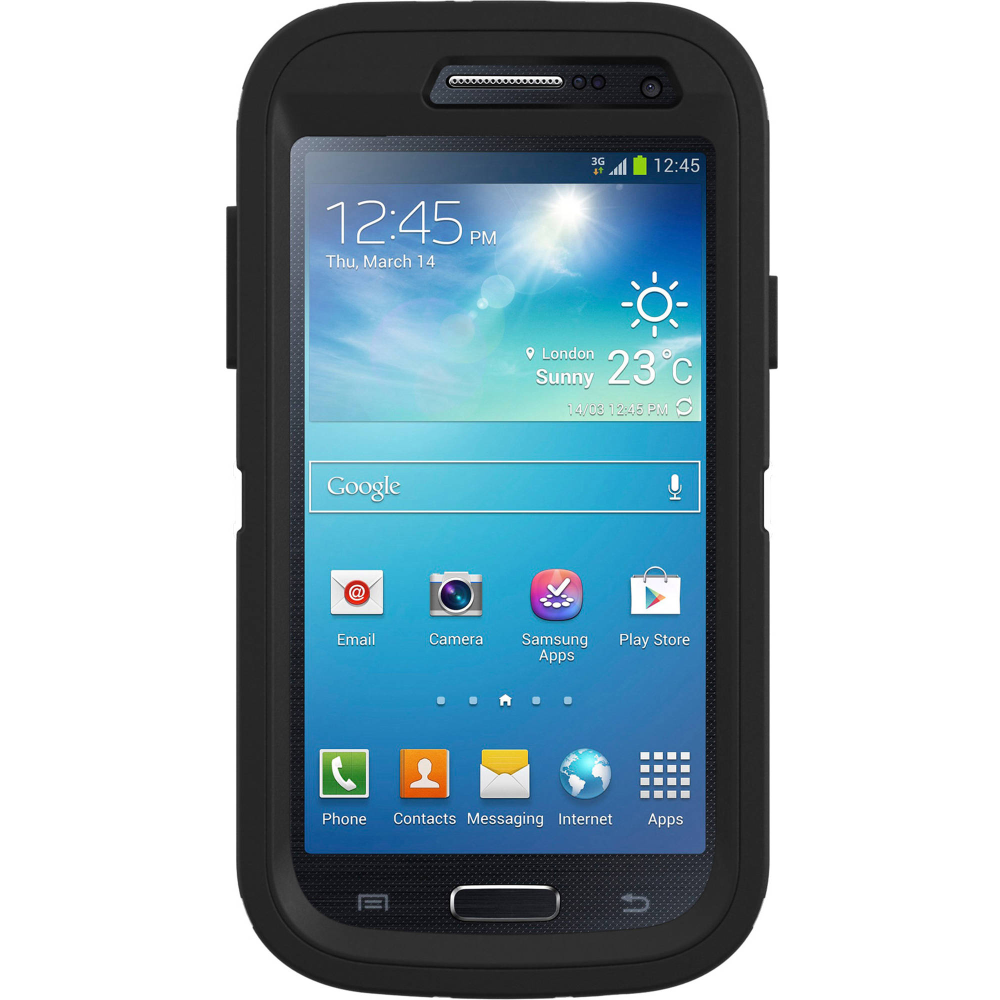 Galaxy S4  Otterbox samsung mini case defender series, black