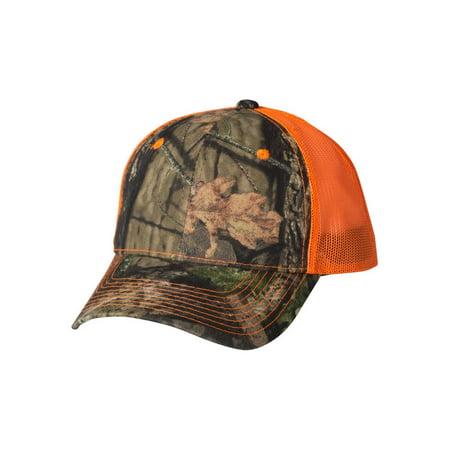 Outdoor Cap Headwear Camo Cap with Neon Mesh Back Rhinestone Mesh Back Cap