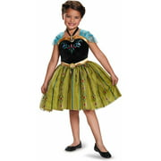 Frozen Anna Classic Child Dress Up / Role Play Costume with Locket