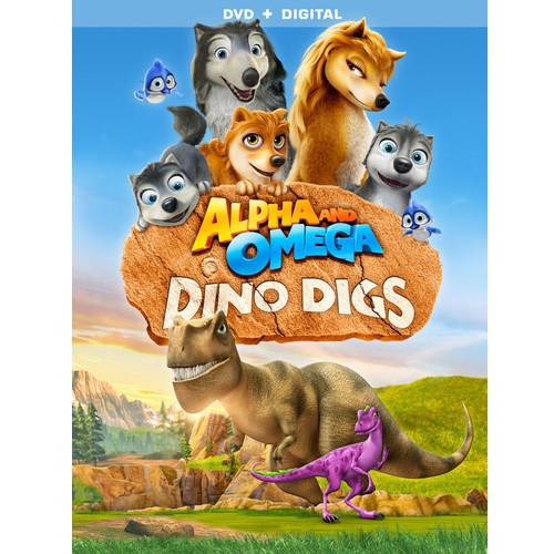 Alpha And Omega: Dino Digs (DVD + Digital Copy) (With INSTAWATCH)