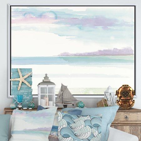 Horizon - Coastal Framed Canvas - image 1 of 3