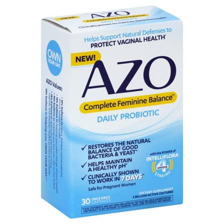 30ct Capsule - Azo Complete Womens Balance 30ct