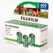FUJIFILM Fujicolor Superia X-TRA 400 Color Negative Film (35mm Roll Film, 36 Exposures, 3-Pack)