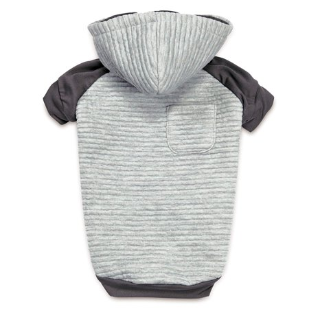 Zack & Zoey Elements Textured Stretch Hoodie for Dogs, X-Large, Textured fabric used on the back and Hood provides a striking visual effect By Zack Zoey