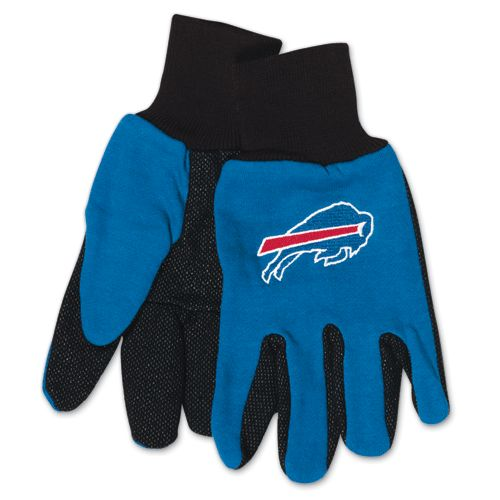 Buffalo Bills Two Tone Adult Size Gloves by McArthur