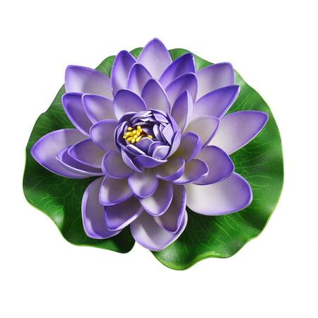Floating Lotus Flower - Unique Bargains Aquarium 6