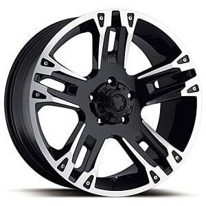 "Ultra Wheel 235B Maverick Matte Black Wheel (16x8""/6x5.5mm, +10 mm offset)"