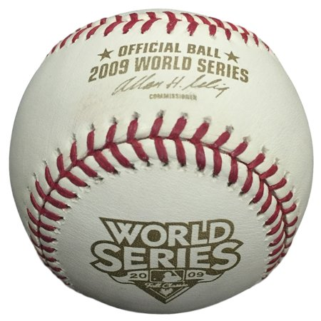 2009 World Series Unauto Baseball Philadelphia Phillies Vs New York Yankees