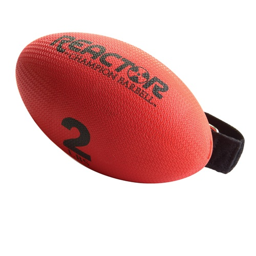 Hand Held Weights, Football Shape - 2 Lb