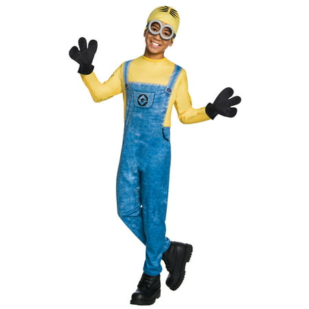 Boys Minion Dave Costume](Homemade Minion Costume For Adults)