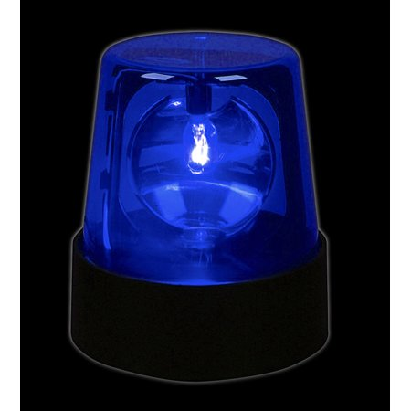 Lumistick 7 Inch Police Light Party Beacon, Blue