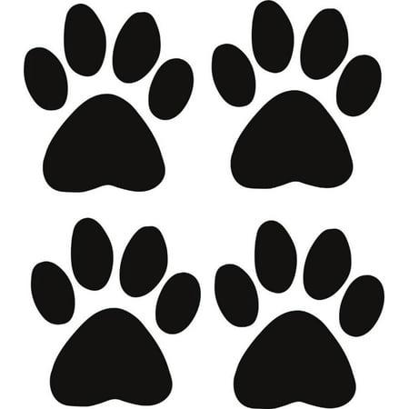 Cat - Dog - 4 Animal Paw Prints 12
