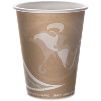 Eco-Products, ECOEPBRHC8EW, Recycled Hot Cups, 1000 / Carton, Multi