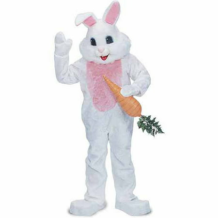 Premium Rabbit White Adult Halloween Costume - Halloween Costume Idea Funny