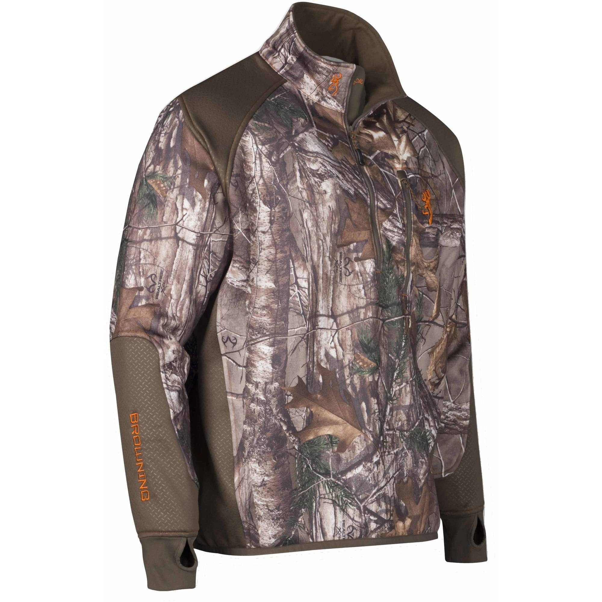 Hell's Canyon Performance Fleece 1 4 Zip Jacket by Browning