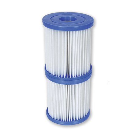 Bestway Flowclear Type V/Type K 330 GPH Replacement Filter Cartridge | (The Best Way To Clean White Vans)