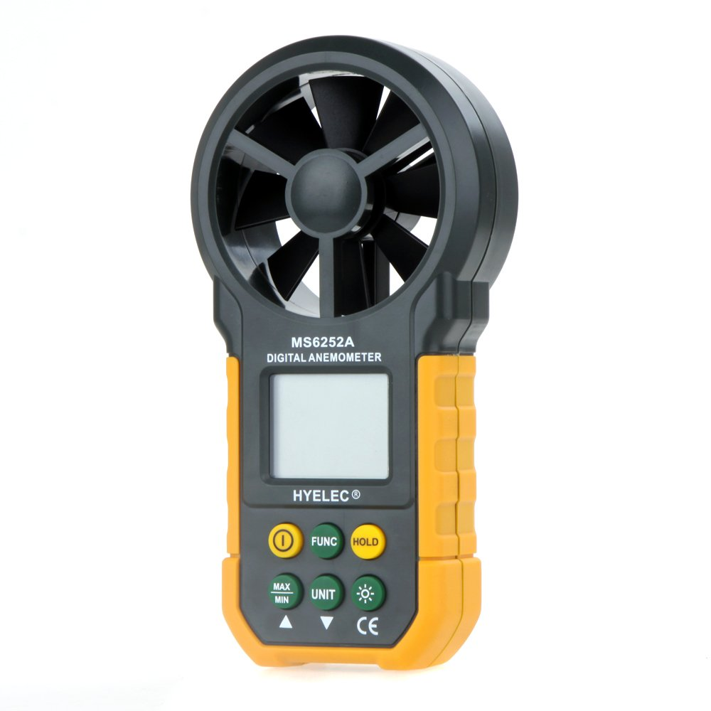 HYELEC MS6252A Multifunction Digital Anemometer by HYELEC