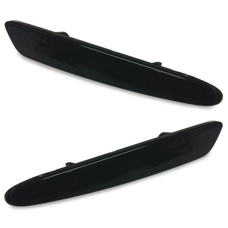 Corvette Replacement Side Marker Light 2 Pc. (Set) - Front or Rear Smoked : 2...
