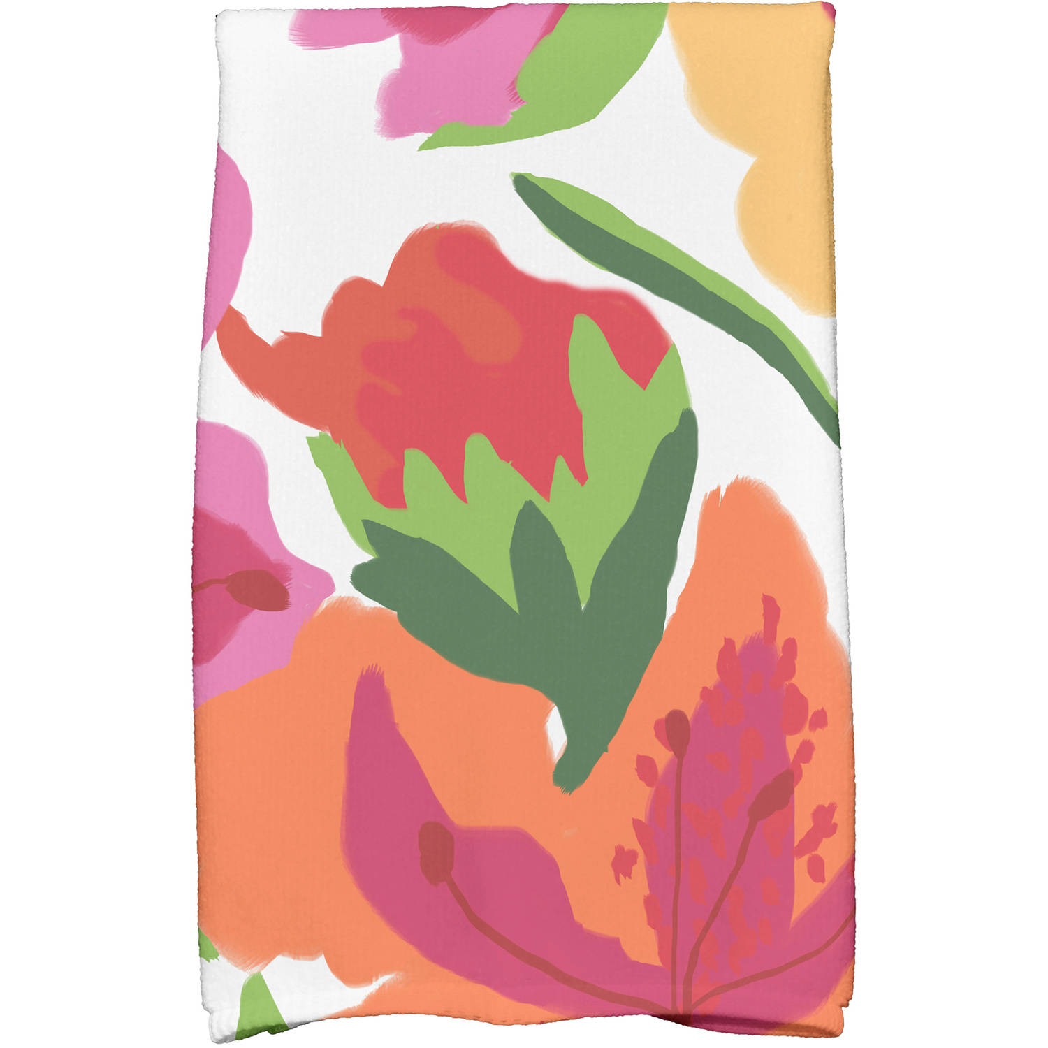 "Simply Daisy 16"" x 25"" Tropical Floral Floral Print Kitchen Towels"