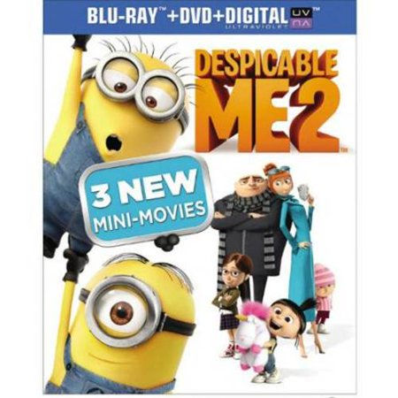Surrounded by an army of tireless, little yellow minions, we discover Gru (Steve Carell), planning the biggest heist in the history of the world. However he is unwillingly recruited by the Anti-Villain league to help deal with a powerful new super criminal. | eBay!Seller Rating: % positive.