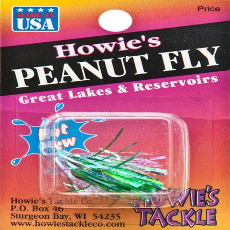Howies Tackle Peanut Fly Fishing Lure Green Black   20023