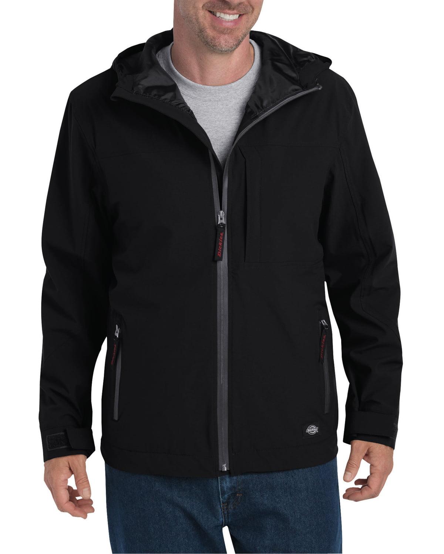 JW7009 Dickies Work Workwear Glenwood Waterproof Breathable Jacket Coat Black