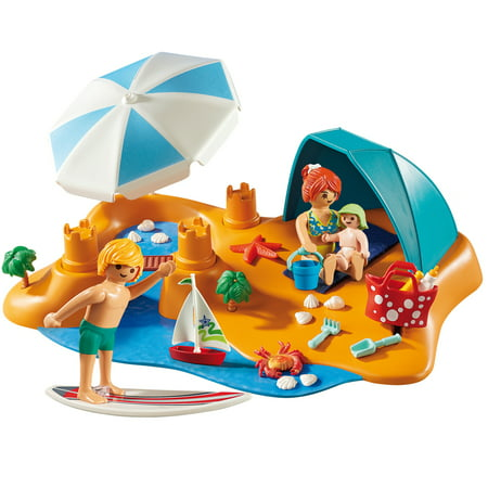 PLAYMOBIL Family Beach Day Now $9.70 (Was $24.99)