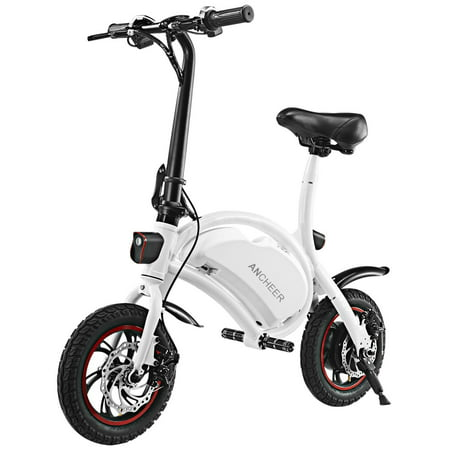 ANCHEER Bluetooth System+APP Control Folding Electric Bike 350W 36V 6AH Lithium Battery Smart Electric Bicycle With Automatic