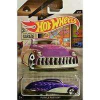 hot wheels purple passion garage series 6/10 diecast 2016
