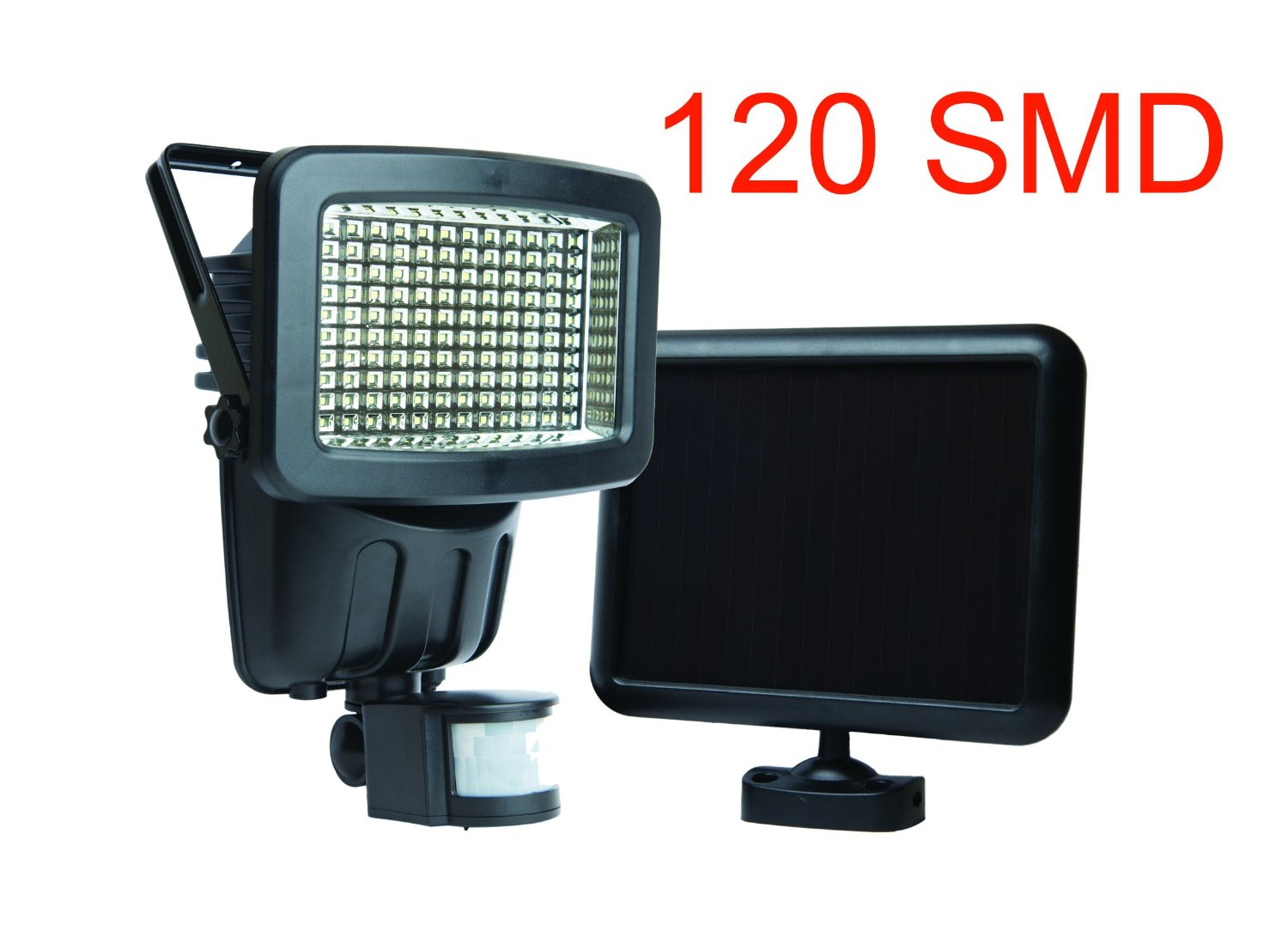 120 LED Solar Powered Motion Sensor Security Flood Light
