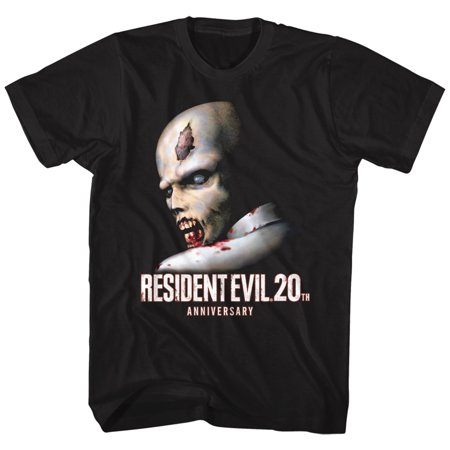 Resident Evil Horror Science Fiction Video Game 20th Anniversary Adult T-Shirt - image 1 of 1