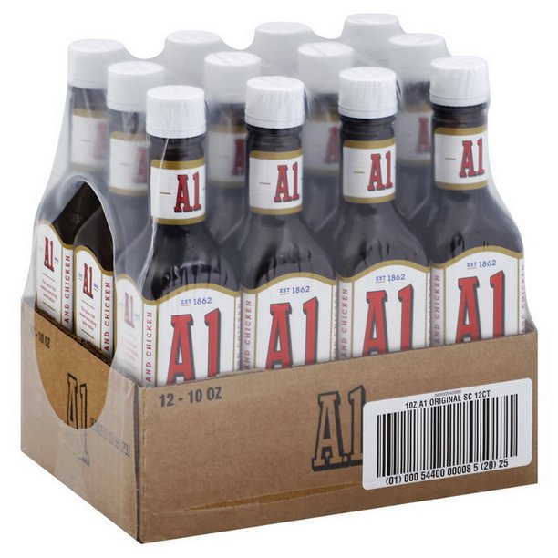Price Case A 1 00054400000085 Steak Sauce A Retail 12 10 Ounce Walmart Com Walmart Com