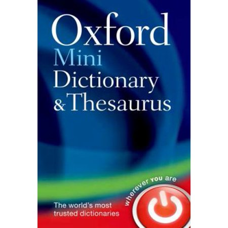 Oxford Mini Dictionary   Thesaurus