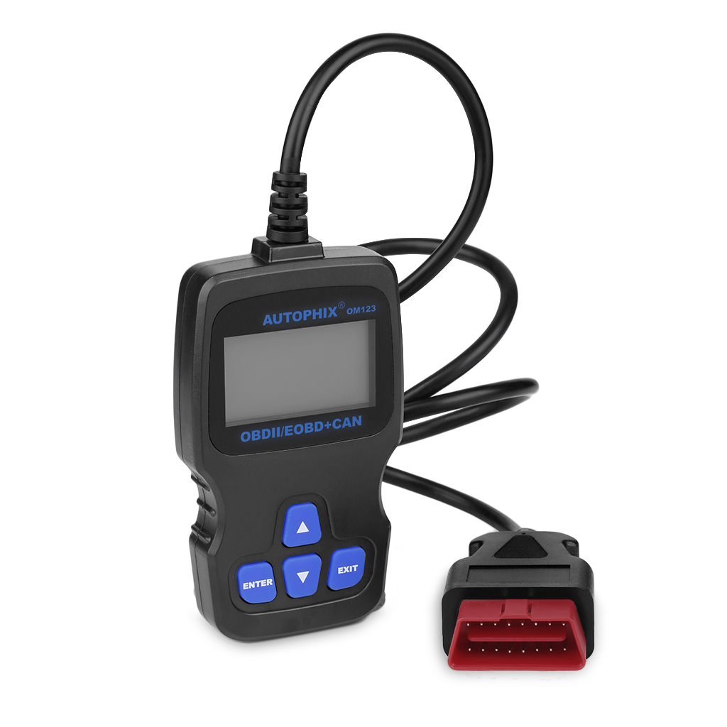 AUTOPHIX OBDMATE Black OM123 Hand-held CAN OBD2EOBD Engine Code Reader Auto Car Vehicle Diagnostic Scan Tool