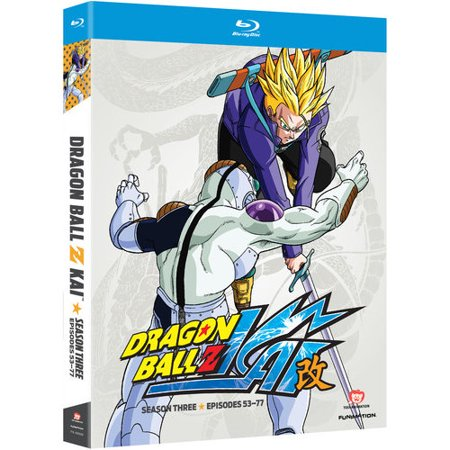 Dragon Ball Z Kai  Season Three  Blu Ray