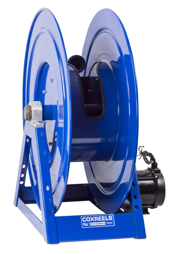 COXREELS 1195-1332-EB 24V DC 1 2HP Motorized Hose Reel 2inx75ft 1000PSI no hose by Coxreels