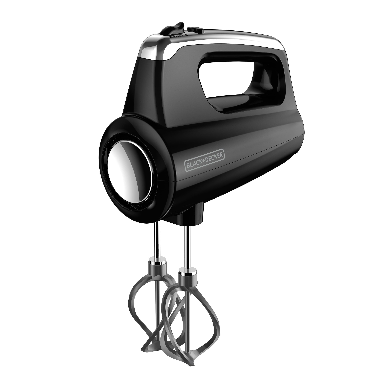 BLACK+DECKER Helix Performance Premium 5-Speed Hand Mixer, Black, MX600B