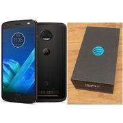 MOTOROLA MOTO Z2 FORCE XT1789 AT&T BRANDED + GSM UNLOCKED BLACK 64GB  Refurbished