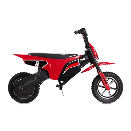 "T4B CLIO Kids Starter Mini Dirt Bike, 250W Brushless Electric Motor, Off-Road Scooter, 24V7.5Ah Motocross Small 12.5"" Wheel for Kids 5-yo and above - Red - image 1 de 7"
