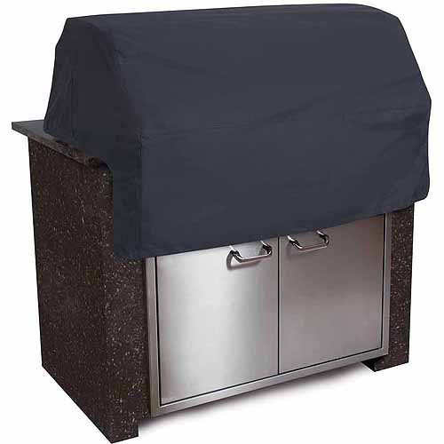 Classic Accessories Black Built-In Patio Grill Top Cover - Tough BBQ Cover with Water Resistant Fabric, X-Small (55-311-360401-00)