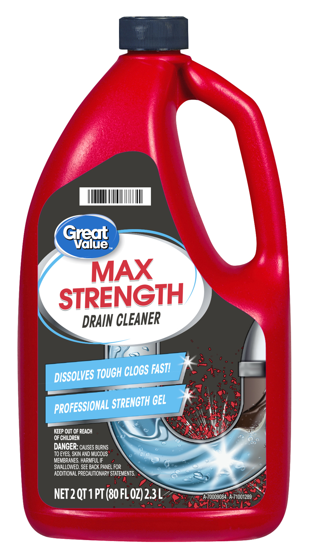 Great Value Professional Strength Drain Clog Remover Gel 80 Fl Oz Brickseek