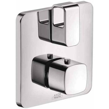 Hansgrohe Axor 11732001 Urquiola Thermostatic Valve Trim with Integrated Volume Control, Less Valve, Chrome