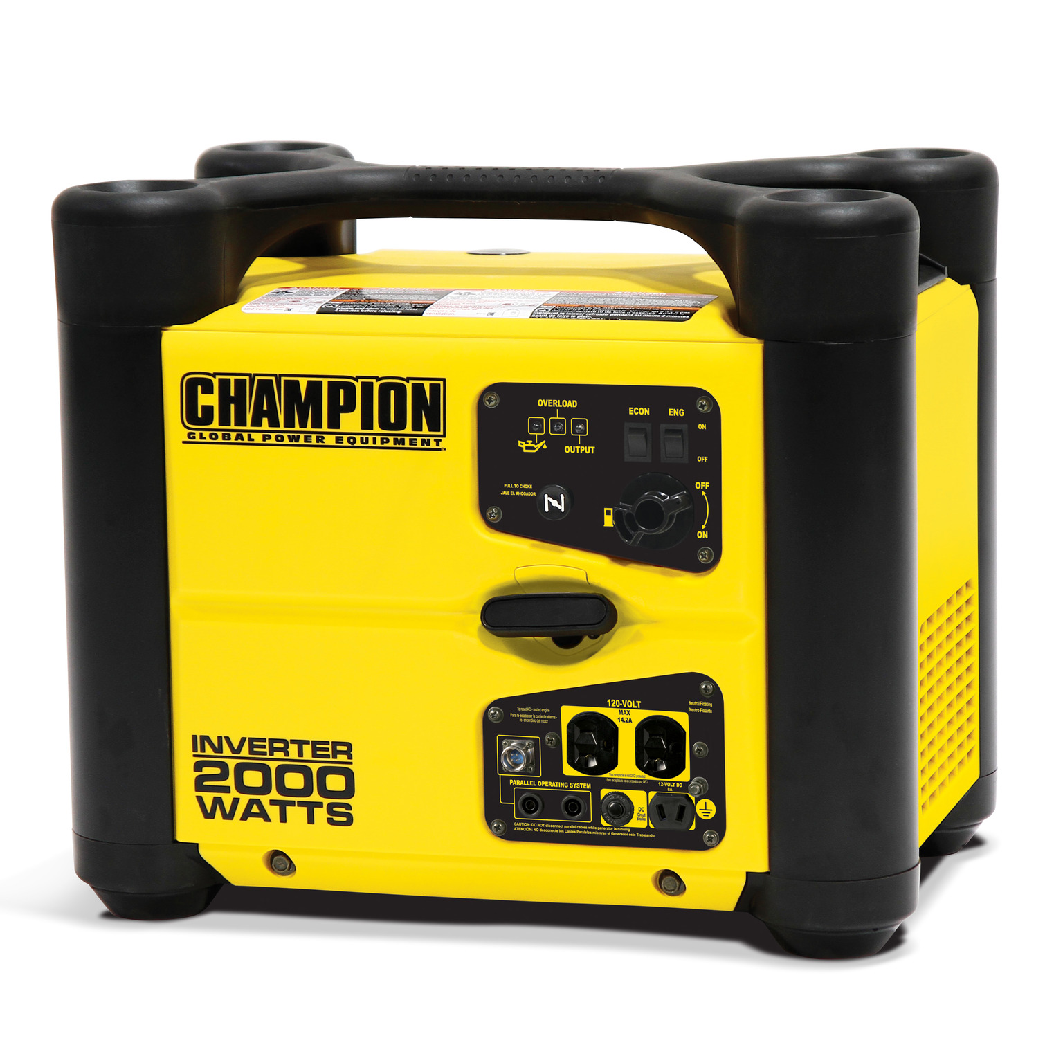 Champion 100489 2000-Watt Stackable Portable Inverter Generator