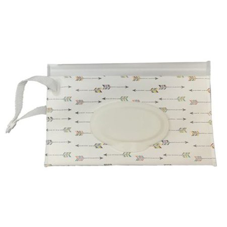 SHOPFIVE 1x Baby Wipes Travel Carrying Case Holder Dispenser Wet Wipe Bag New Gift (Best Travel Wipes Case)
