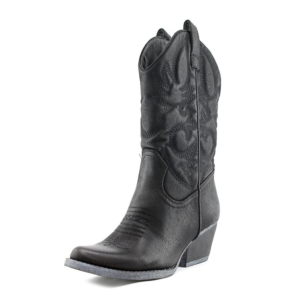 r.b.l.s. Valley Women  Round Toe Synthetic  Western Boot