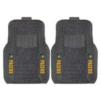 Indiana Pacers 2-Piece Deluxe Car Mat Set - No Size
