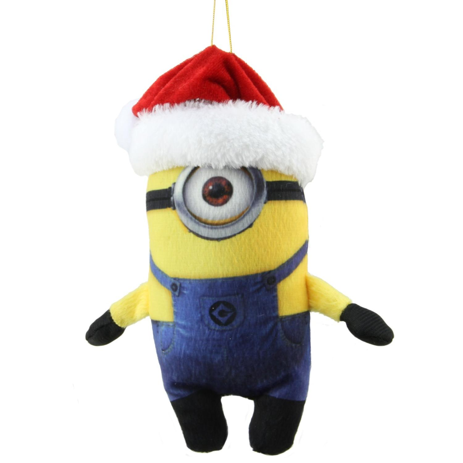"Kurt S. Adler 7"" Despicable Me Miniature Plush Minion ..."
