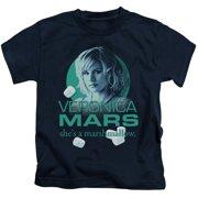 Veronica Mars Marshmallow Logo Little Boys Shirt