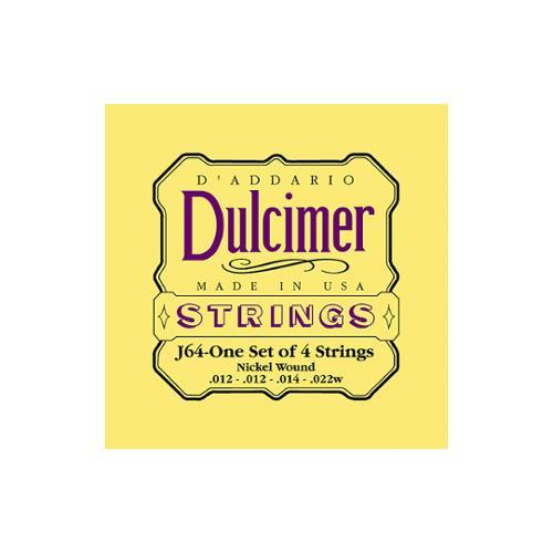 D'Addario J64 4-String Dulcimer Strings by Daddario