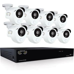 8CH 1080P DVR 1TB 100FT NV 8CAM PIR HEAT BASED MOTION DETECTION
